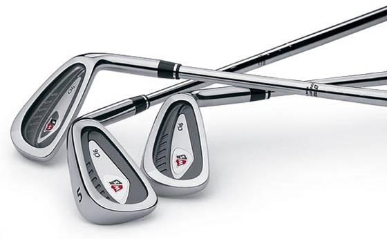 Les différents fers de golf
