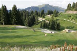 Photo du Golf de Flaine, les Carroz