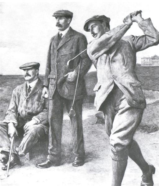 Les légendes du golf, Harry Vardon, Henry Taylor et James Braid - Histoire du Golf sur Golf Passion