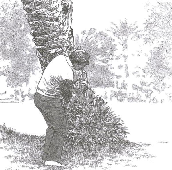 Accepter les mauvais coups au golf