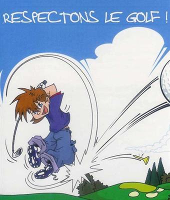 Respectez les rêgles et l'étiquette au golf