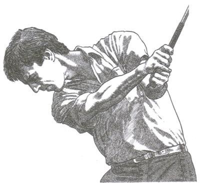 Le Follow-through du swing au golf