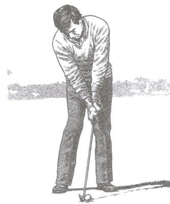 Débuter le mouvement du swing au golf