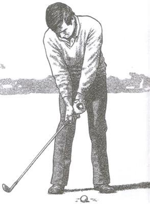 Action du poignet pour débuter le mouvement du swing au golf